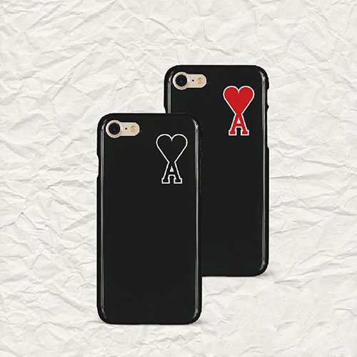 [UNISEX] HEART A PHONE CASE (2color)