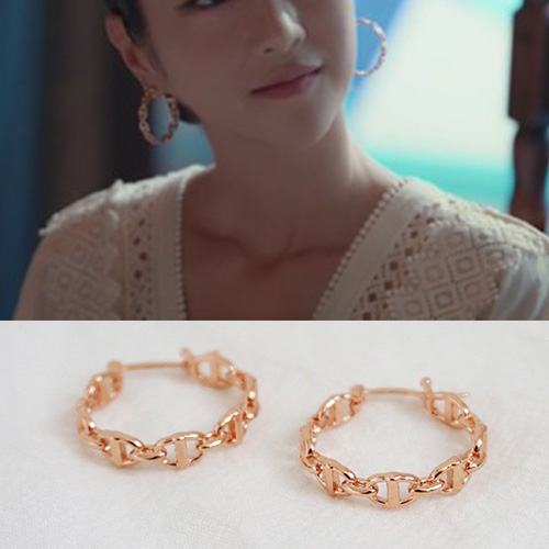 K-drama[It's Okay to Not Be Okay]/Seo Yeji st. LINK CHAIN RING PIERCE