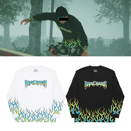 [UNISEX] UNDER FLAME LONG SLEEVE (2color)