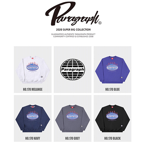 [Paragraph] FLAME SWEATSHIRTS