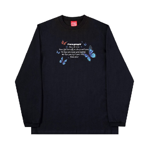 [Paragraph] BUTTERFLY LONG SLEEVE (5color)