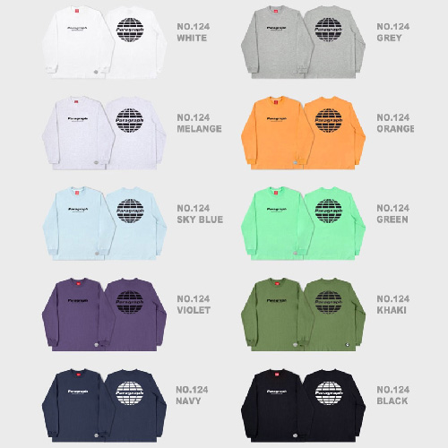 [Paragraph] CLASSIC LONG SLEEVE TSHIRT (10color)