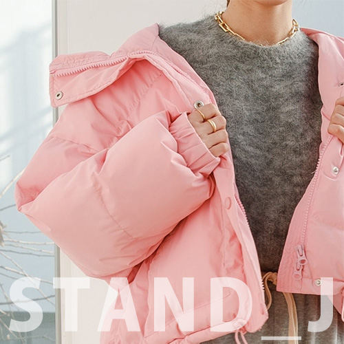 [STAND_J] PUFFY WELLON DOWN JACKET (4color)