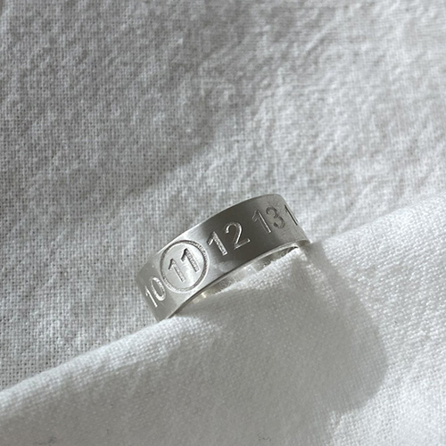 [UNISEX] NUMBER RING (5size)