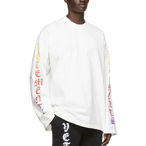 [UNISEX] GOTHIC LETTERING LONG SLEEVE (2color)