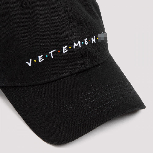 [UNISEX] FRIENDLY EMBROIDERY BALL CAP