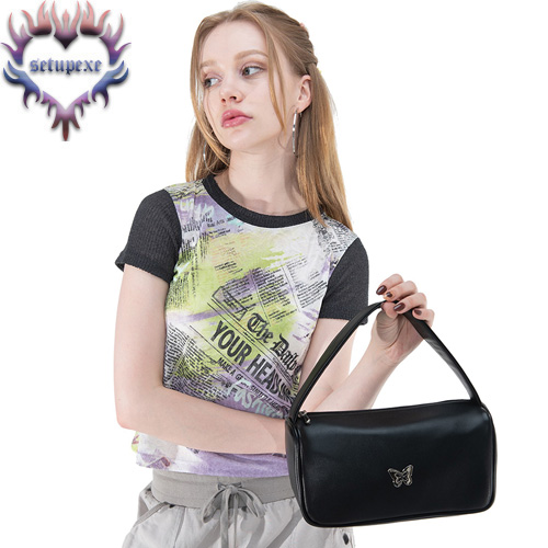 【SETUP-EXE】 Silverlabel point tote bag [black]