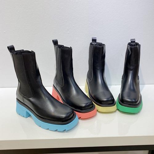 [22.5 ~ 25.0 cm] COLOR CHELSEA BOOTS (4color)
