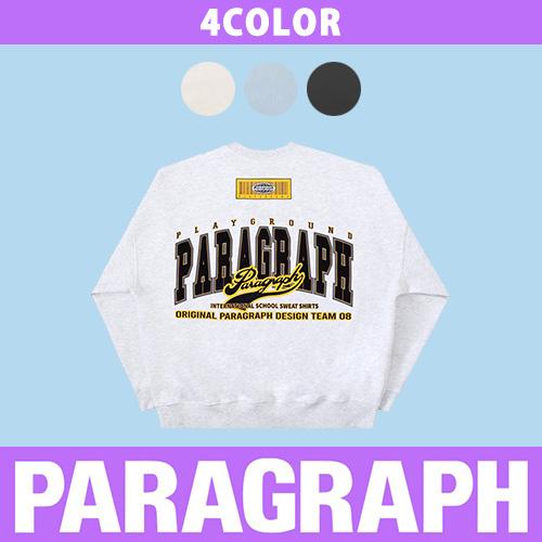 ●Original●[PARAGRAPH] BAR CODE SWEATSHIRTS (4color)