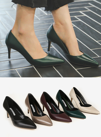 Luxury Cowhide Stiletto Heel (Hand made shoes)