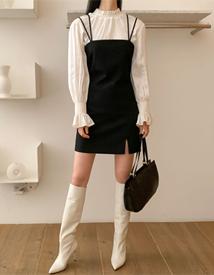 Herring mini dress