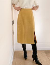 Roco slit skirt