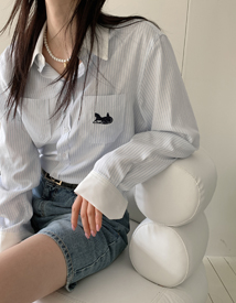 Carriage jasu blouse *3월12일이후 입고예정*