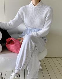 Lecco crop knit *3월셋째주 입고예정*