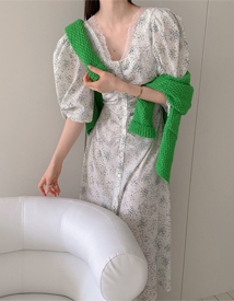 Dry flower dress
