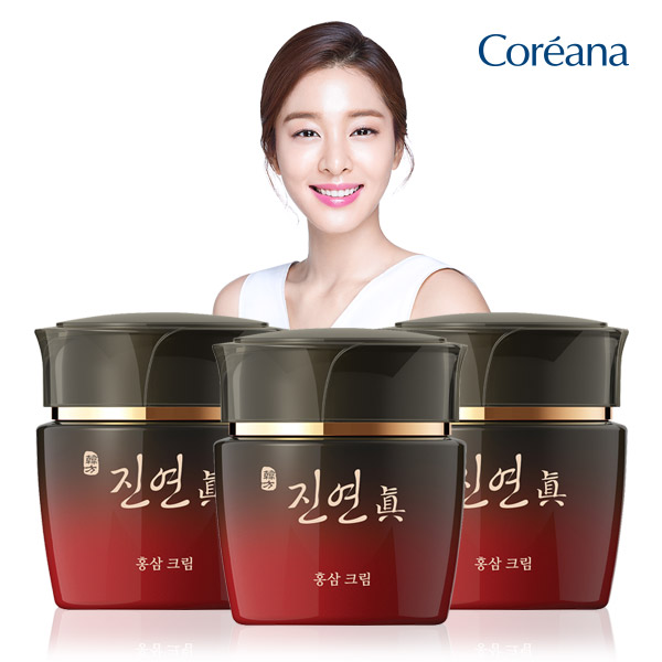 Coreana Jin-Jin Ginseng Nutrition Elasticity cream 2 + 1
