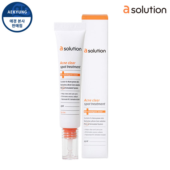 Asolution Acne Clear Spot Treatment 25ml