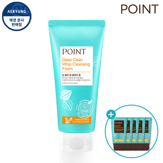 Point Dip CLEAN Whip Cleansing Foam 175g + Gift