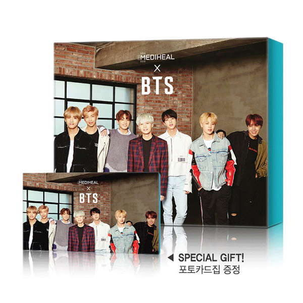 Mediheal X BTS Soothing Care Special Set (PDFEX5 + TetreeEX5)