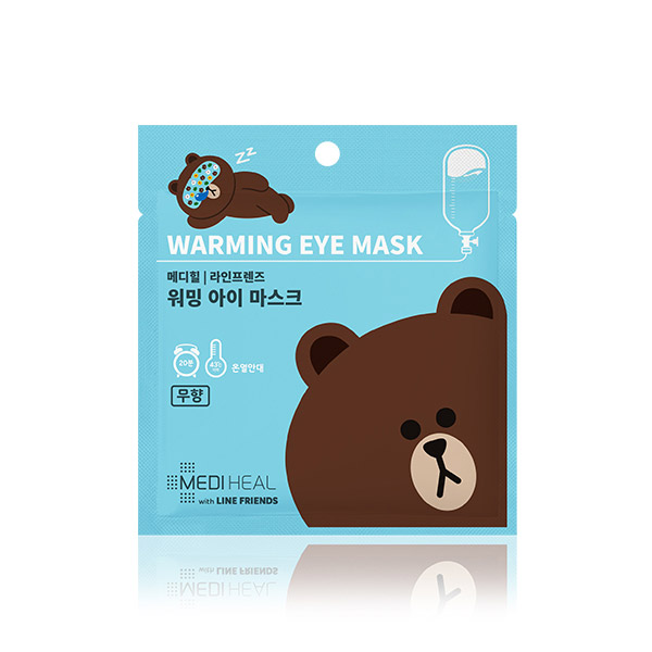 Mediheal line friends warming eye mask (unscented)