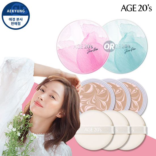 Age two weenie Jerico rose essence Cover pact (box1 + refill 3)