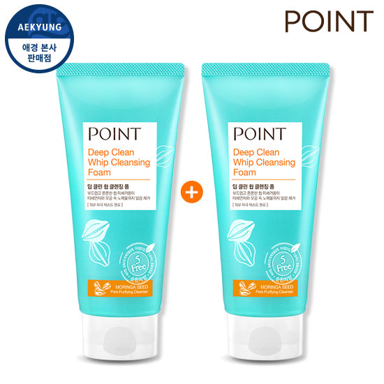 [1 + 1] Point Whip Deep Clean Cleansing Foam 175g