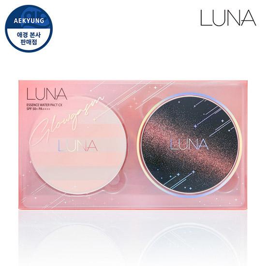 Luna FW glow essence hydration Pact CX double plan
