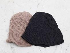 Twist Knit beonggeoji -Brown