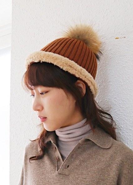 Corrugated Knit Cap