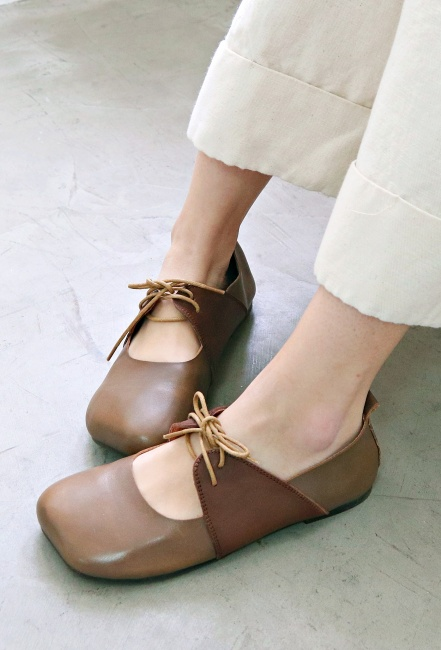 Soft cowhide shoes