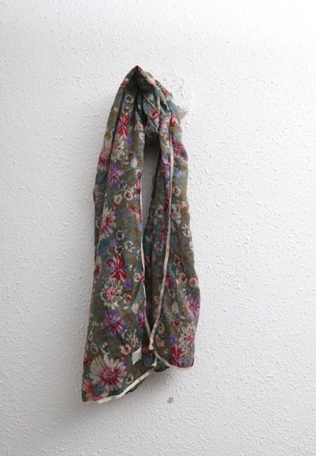 Flower tape muffler-2color