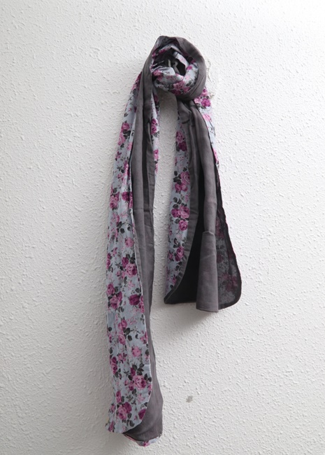 Double-sided Flower Muffler-4Color