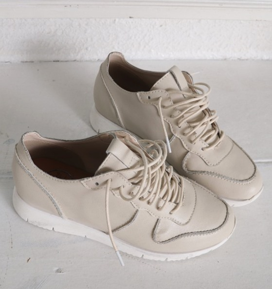 Cowhide Latex Sneaker-Height increase5cm