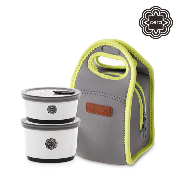 [sillymann CERA] CERA LUNCH BOX 2P SET WCK9600