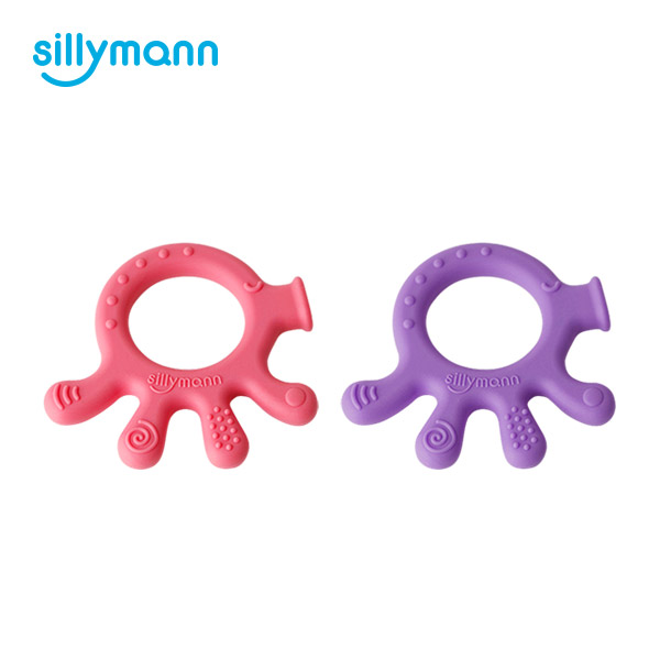SILICONE TEETHER(OCTOPUS) WSB240