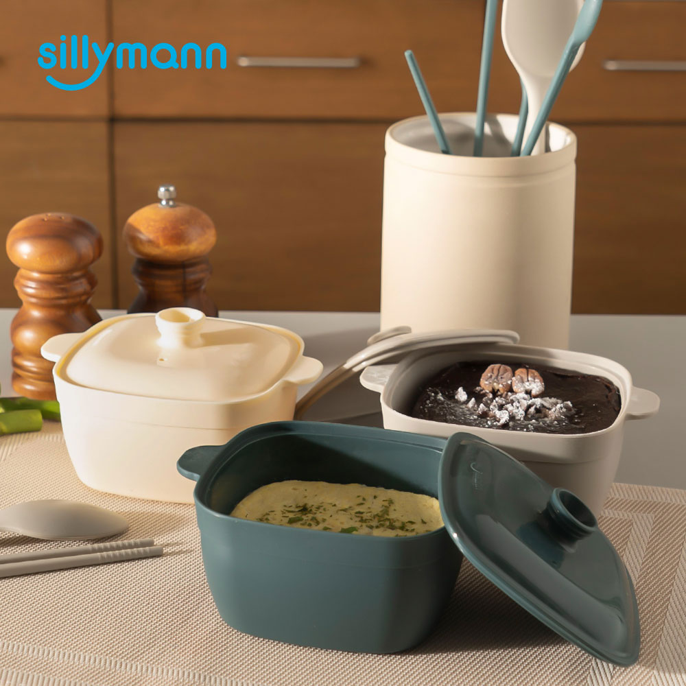 HARMONY SILICONE SQUARE STEAMER WSK4024
