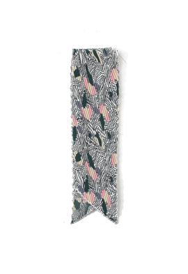 Color wrinkle scarf