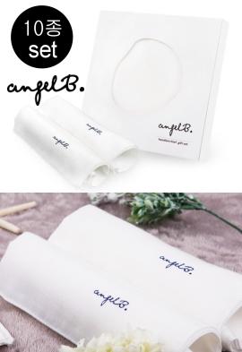 Angel Angel Dot Angel Handkerchief Set of 10 (Package Free)