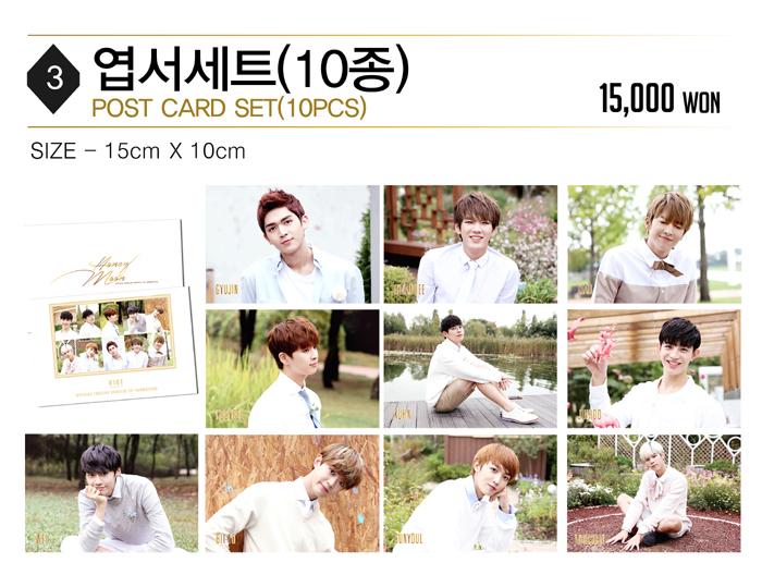 UP10TION Postcard Set