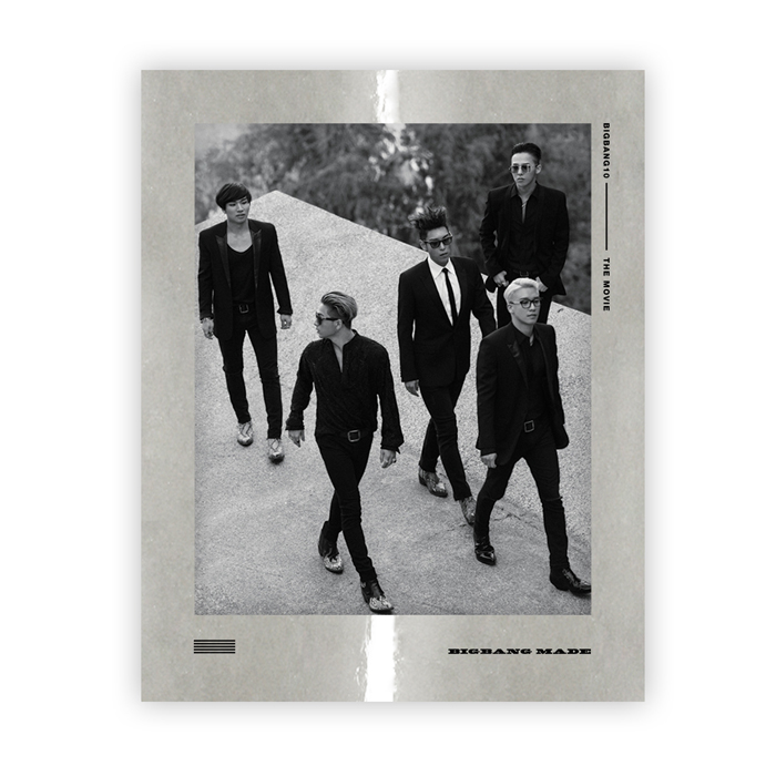 BIGBANG (Big Bang)-BIGBANG10 THE MOVIE BIGBANG MADE Blu-ray FULL PACKAGE BOX -LIMITED EDITION-
