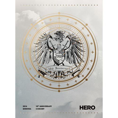 SHINHWA-2016 SHINHWA 18TH ANNIVERSARY CONCERT HERO DVD