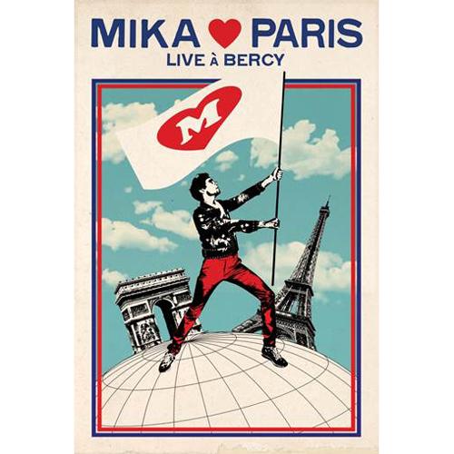 MIKA (미카)-[MIKA♥PARIS (Live At Bercy)] (Bercy Performance live DVD)