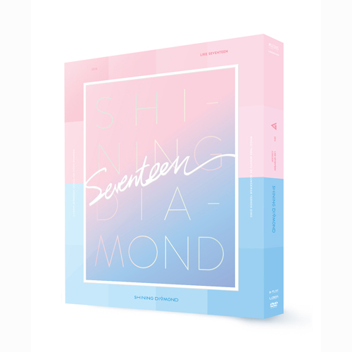 SEVENTEEN-2016 LIKE SEVENTEEN – Shining Diamond CONCERT DVD
