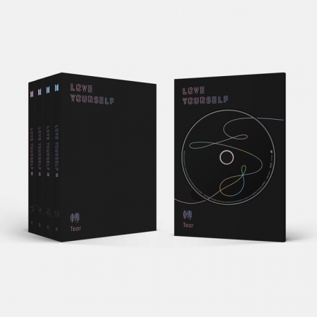 BTS-LOVE YOURSELF 轉'Tear' (YOUR 4 medium random)