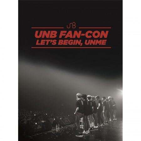 U&B-2018 UNB Fan-Con [LET'S BEGIN, UNME] DVD