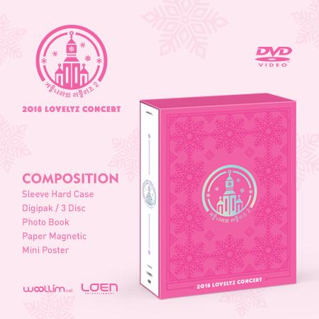 LOVELYZ-2018 LOVELYZ CONCERT [Lovelyz in Winter World] DVD