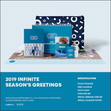 Infinite (INFINITE)-[2019 Season's Greetings] (2019 INFINITE SEASON'S GREETINGS)