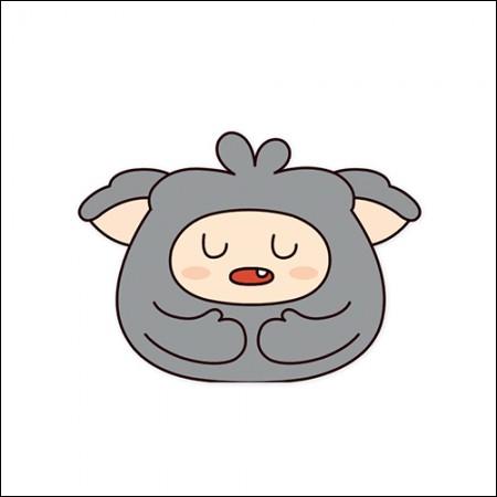 MON.G (Monji)-OFFICIAL GOODS / MON.G CUSHION DOLL (Monji Cushion)