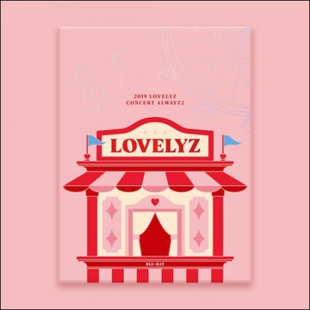 LOVELYZ-[2019 LOVELYZ CONCERT ALWAYZ 2] (BLU-RAY)