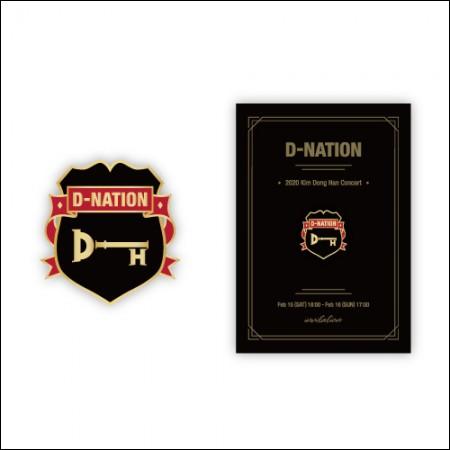 KIM DONG HAN-[D-NATION] / BADGE